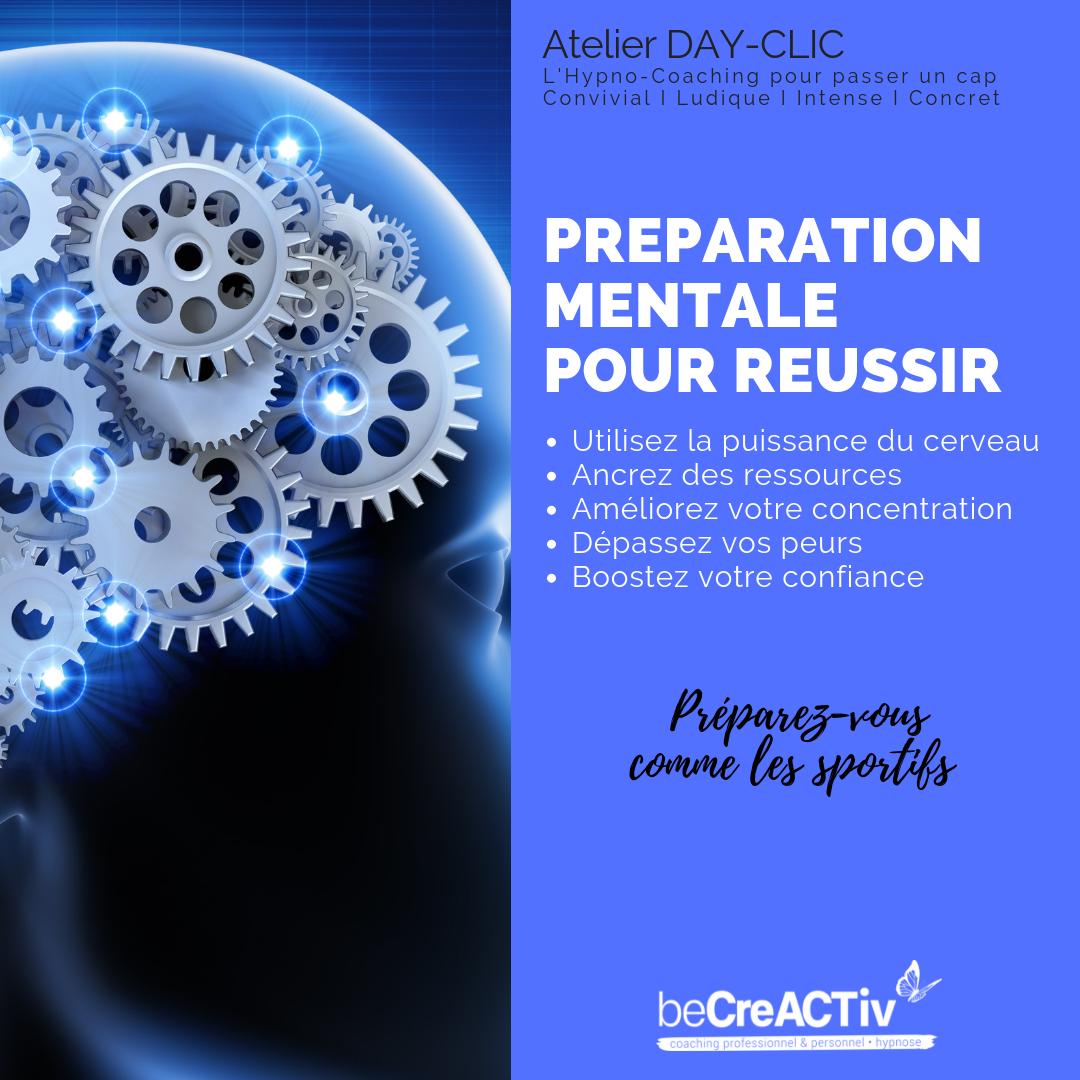 Préparation mentale pour réussir - spécial CONCOURS @ 34, rue Popincourt