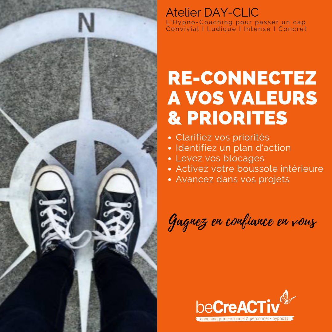 Reconnectez à vos valeurs & priorités @ 34, rue Popincourt