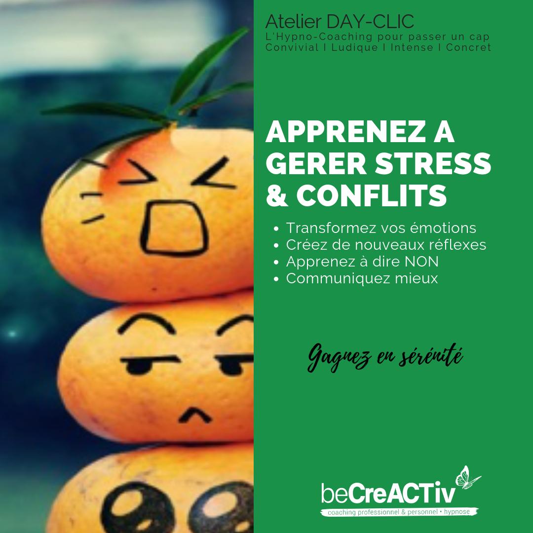 Apprenez à gérer stress & conflits @ 34, rue Popincourt
